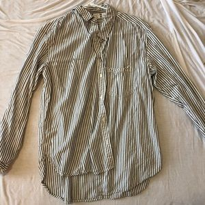 Nordstrom's Striped Button-up